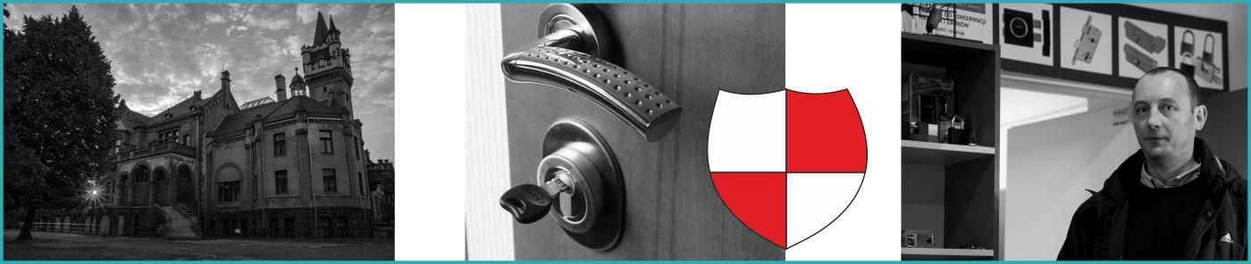 Montaż zamka w drzwiach Delta